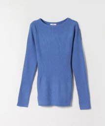 LANVIN en Bleu/長袖リブニット/503512007