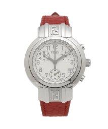 FENDI/フェンディ 腕時計 レディース FENDI F112100102 32MM ホワイト レッド/503520368