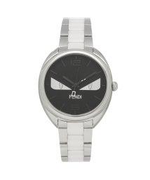 FENDI/フェンディ 腕時計 レディース メンズ FENDI F216031004D1 シルバー ブラック/503520374
