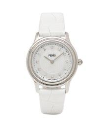 FENDI/フェンディ 腕時計 レディース FENDI F250024541D1 ホワイトパール/503520383