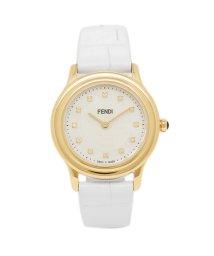 FENDI/フェンディ 腕時計 レディース FENDI F250424541D1 ホワイトパール/ゴールド/503520384