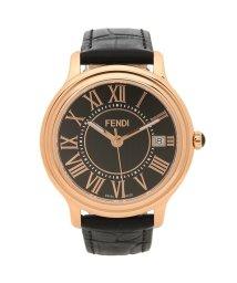 FENDI/フェンディ 腕時計 メンズ FENDI F256511011 ブラック ピンクゴールド/503520389
