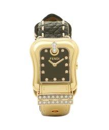 FENDI/フェンディ 腕時計 レディース FENDI F384211DDC ブラック/ゴールド/503520400