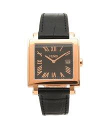 FENDI/フェンディ 腕時計 メンズ FENDI F604511011 ブラック/503520403