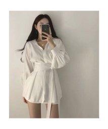 Jewelobe/ジュエローブ Jewelobe オーバーサイズシャツ&ショートパンツセットアップ (ホワイト)/503524857