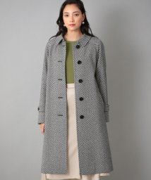 SANYO COAT/<Rain Wool>カシミヤ混バルマカーンコート/503474380