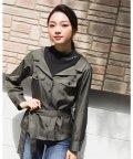 ZIDDY/【ニコプチ掲載】ビスチェ  ドッキング風 Tシャツ(130cm~160cm)/503499557