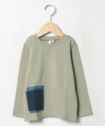 LAGOM/【lagom】ポケット付長袖Tシャツ/503509340