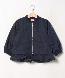 petit main/チュール重ね裾フリルブルゾン/503508987