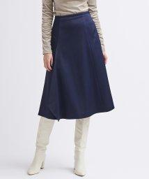 LANVIN en Bleu/サテンドレープスカート/503511974
