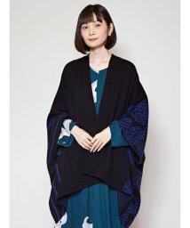 KAYA/【カヤ】-attakee- 菊紋羽織り ビッグシルエットニットカーディガン 7MN-0301/503532126