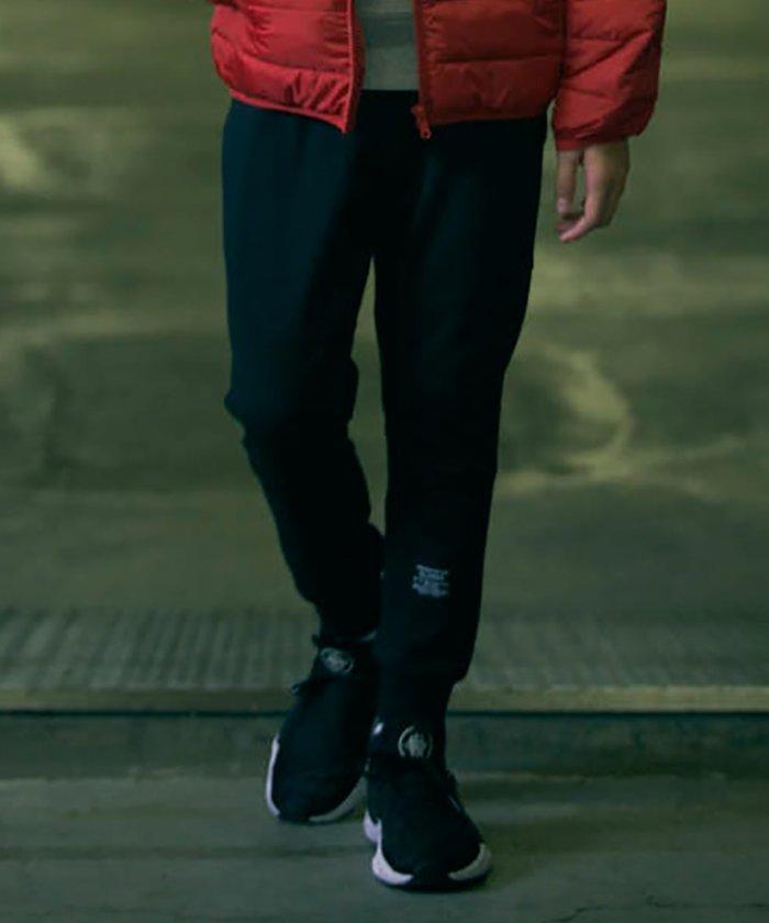 【40%OFF】 グラソス [テーパード]ダンボールニット・ベルトデザインパンツ キッズ ブラック 150cm 【GLAZOS】 【セール開催中】