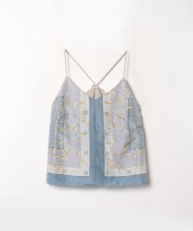 LANVIN en Bleu/リメイクスカーフキャミソール/503089706