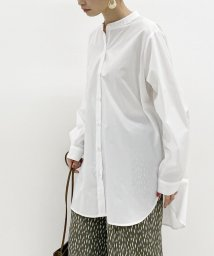 archives/【抗菌加工】ローンバンドカラーシャツ/503470765