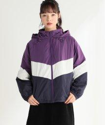 Honeys/中綿配色ブルゾン/503532775