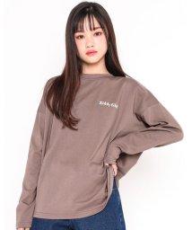 ZIDDY/ルーズ シルエット バック プリント Tシャツ(130cm~160cm)/503534530