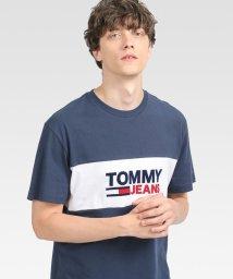 TOMMY JEANS/カラーブロックTシャツ/503505973