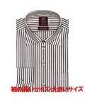 BRICKHOUSE/ワイシャツ 長袖 形態安定 ワイド ピマ綿100% 袖の長い・大きいサイズ メンズ/503539636