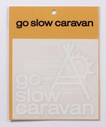go slow caravan/カッティングステッカー ロゴ/503453057