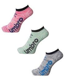 umbro/3Pデザインアンクルソックス/503468089
