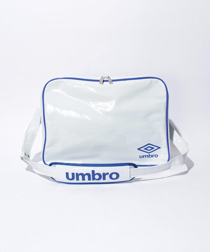 アンブロ エナメルショルダーL メンズ ホワイト系 F 【umbro】