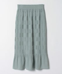 LANVIN en Bleu/ジョーゼットプリーツタイトスカート/503424627