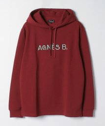 agnes b. HOMME/K311 SWEAT ロゴパーカー/503509696