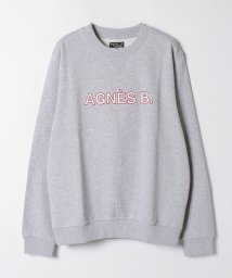 agnes b. HOMME/K313 SWEAT ロゴスウェット/503509706