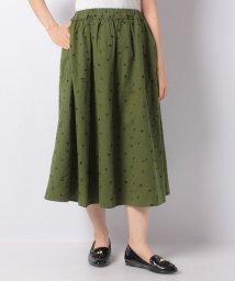 Samansa Mos2/【SM2】角砂糖とスプーンの総刺繍スカート/503526900