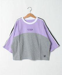 crocs(KIDS WEAR)/CROCS8分袖 Tシャツ/503490803