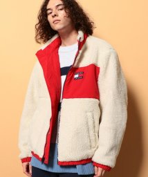 TOMMY JEANS/リバーシブルシェルパジャケット/503517365