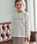 ROPE' PICNIC KIDS/【ROPE' PICNIC KIDS】ロゴロングTシャツ/503534740
