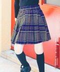branshes/【ペア】チェック柄プリーツスカート/503549868