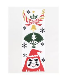 KAYA/【カヤ】注染手ぬぐい 和クリスマス ホワイト×レッド/503550393