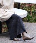 IENA/《予約》ウールコットンケーブルニットスカート◆/503550525