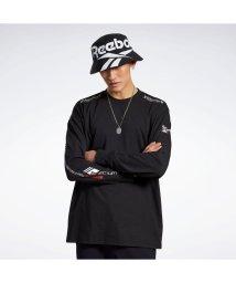 REEBOK/リーボック Reebok ウルトラマン ロング スリーブ Tシャツ / ULTRAMAN Long Sleeve Tee (ブラック)/503554211