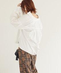 DOUX ARCHIVES /ボリューム袖ギャザーシャツ/503473354