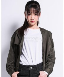 ZIDDY/【ニコプチ掲載】ロゴ ストーン Tシャツ(130cm~160cm)/503499567