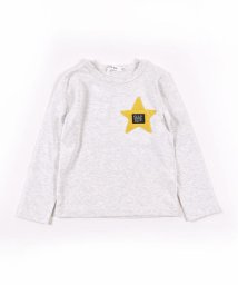 SLAP SLIP/星 ワッペン 恐竜 バックプリント 長袖 Tシャツ (80cm~150cm)/503499604