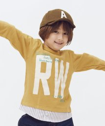 RUGGEDWORKS/裾レイヤード風ミニ裏毛トレーナー                    /503531617