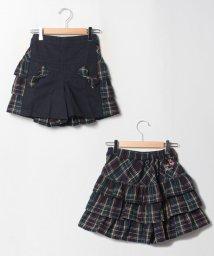 ShirleyTemple/タータンフリルキュロット(150~160cm)/503535003