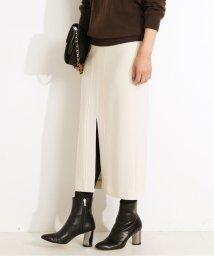 VERMEIL par iena/《追加予約》フロントスリットステッチタイトスカート◆/503557656