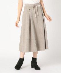MISCH MASCH/タック切替スカート/503392556