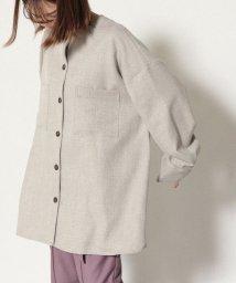 Cheek/バンドカラーシャツジャケット/503505162