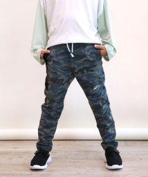 L.COPECK/裏毛スウェット切替パンツ(130~170cm)/503540459