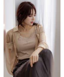 INGNI/シャイニーシアーシャツ          /503541090