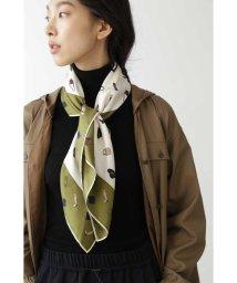 HUMAN WOMAN/◆オリジナル モチーフ柄シルクスカーフ/503559358
