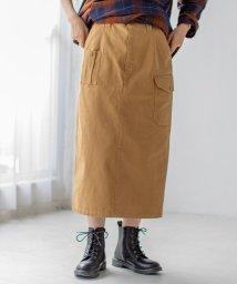 coen/【WEB限定カラー】UKミリタリースカート(タイトスカート)/503559959