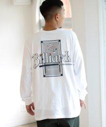 BEAMS MEN/【SPECIAL PRICE】BEAMS T / Billiards/Burger ロングスリーブ Tシャツ/503561212