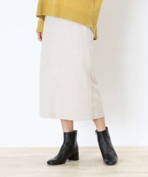 abahouse mavie/【WEB先行カラーあり】ecru カルゼジャージータイトスカート【予約】/503561327